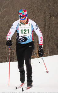 Gary on his way to crushing the field in his first 50k xc ski race.