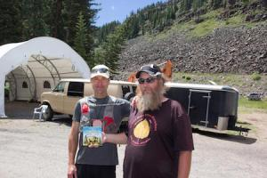 Tim and RD Phil after finishing Grand Mesa 50 miler